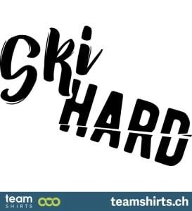 Ski harte Beschriftung