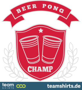 Bier Pong Champion Logo