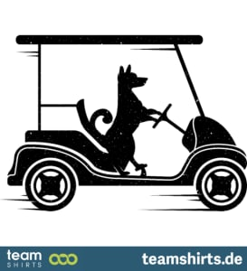 3 dog golfcaddy png vectorstock 6886395