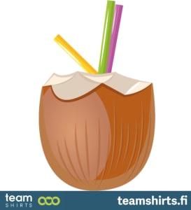 Kokos trinken