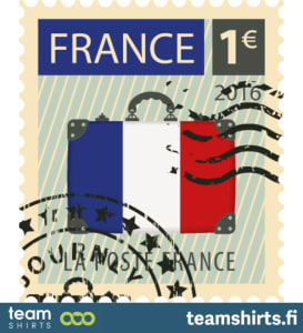 Stempel Frankreich
