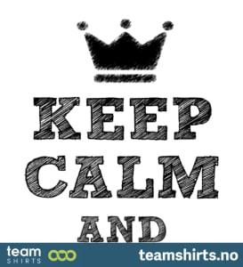 Bleib ruhig und