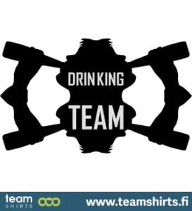 Trinkendes Team