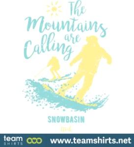 Snowboard Ski Snowbasin Utah