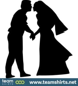 Hochzeit Silhouette