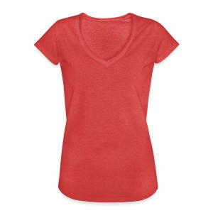 Vintage-T-skjorte for kvinner