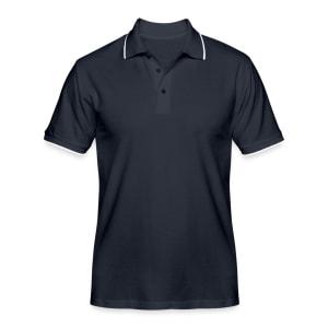 Men's Contrast Polo Shirt TS