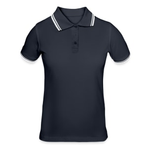 Polo tipped Femme