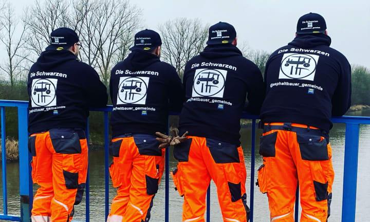 Équipe asphaltbauer_gemeinde