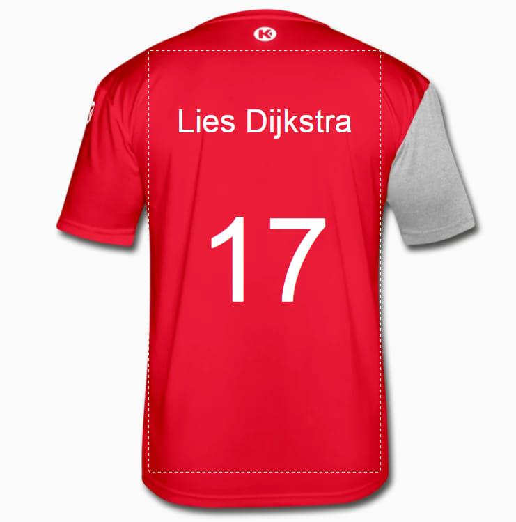Handbal shirt voor dames en heren