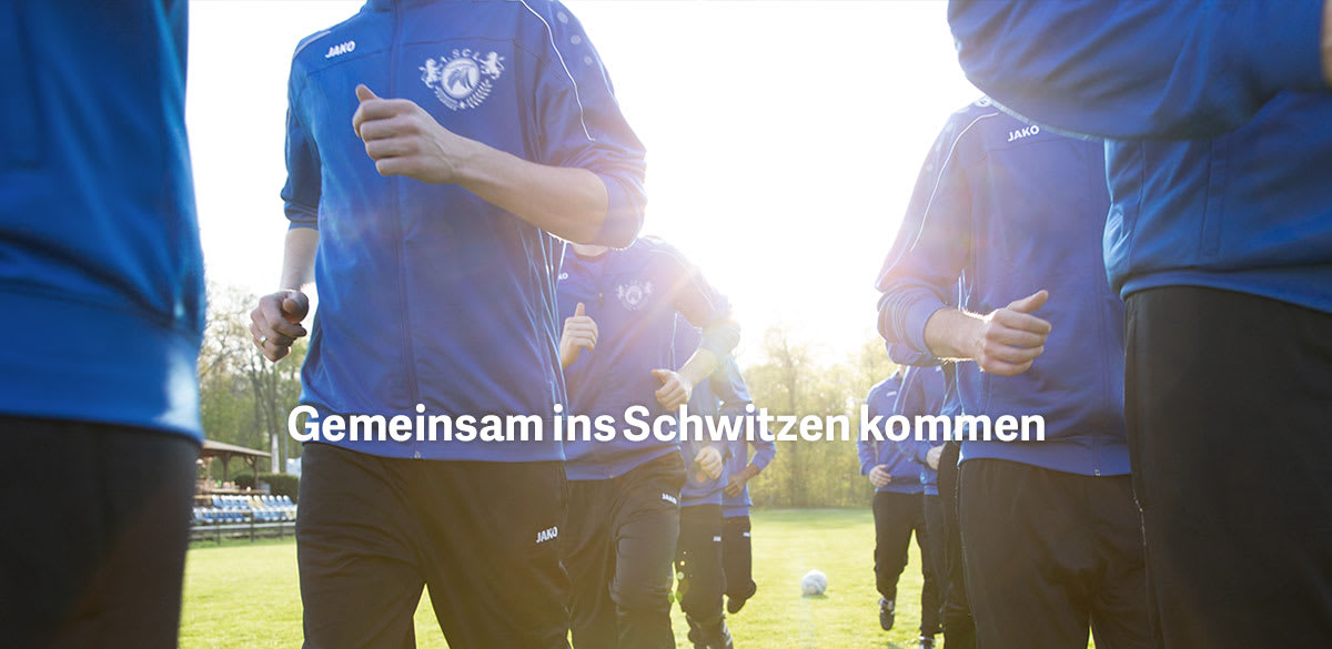 Trainingsanzug bedrucken