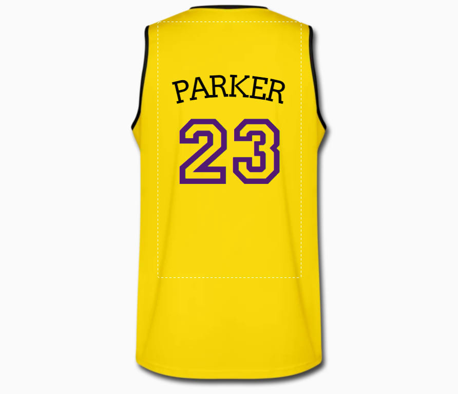 Design your own basktball jersey