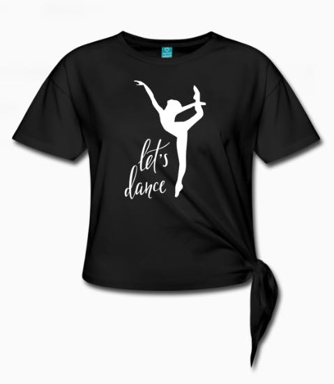 T-skjorte og hettegenser til dansekurset