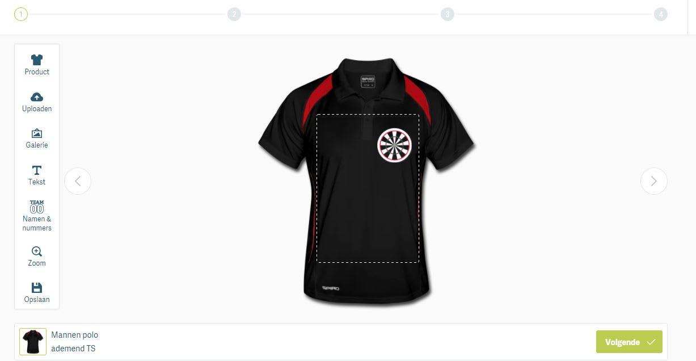 Dart Shirt ontwerpen