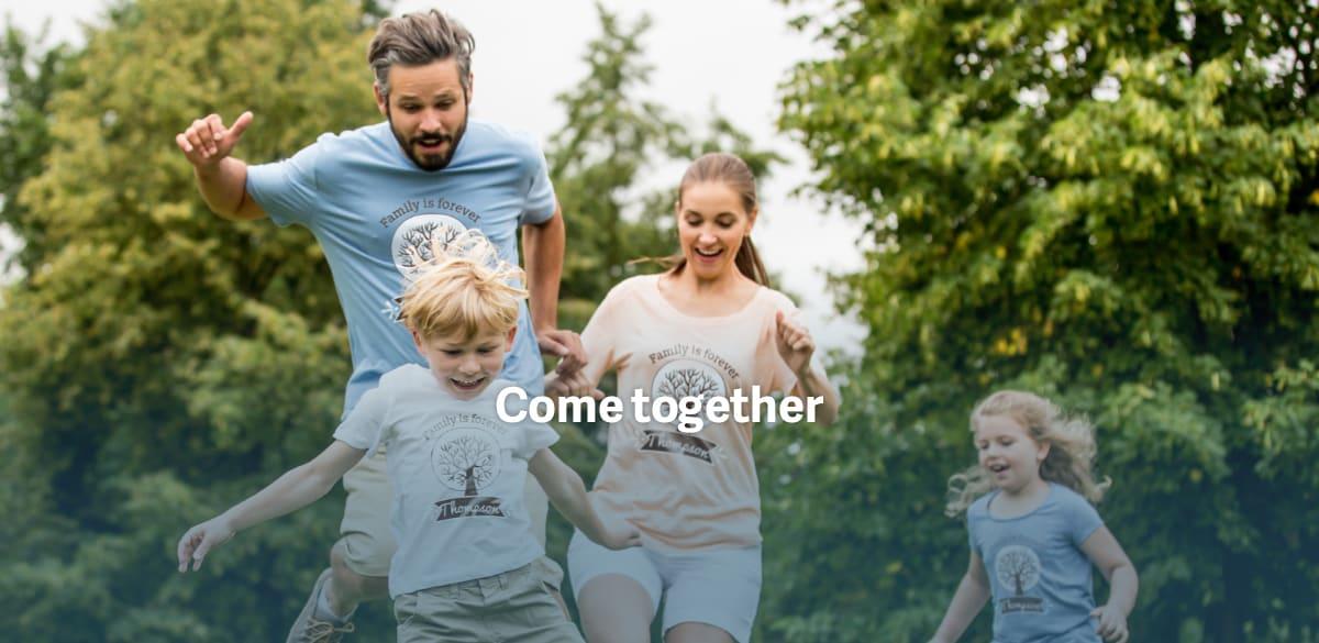 T shirts pour Papa et toute la famille
