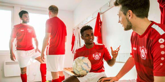 Fotballdrakter til laget