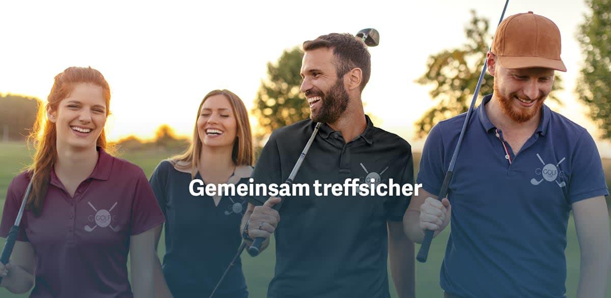 Golf Shirts mit eigenem Logo