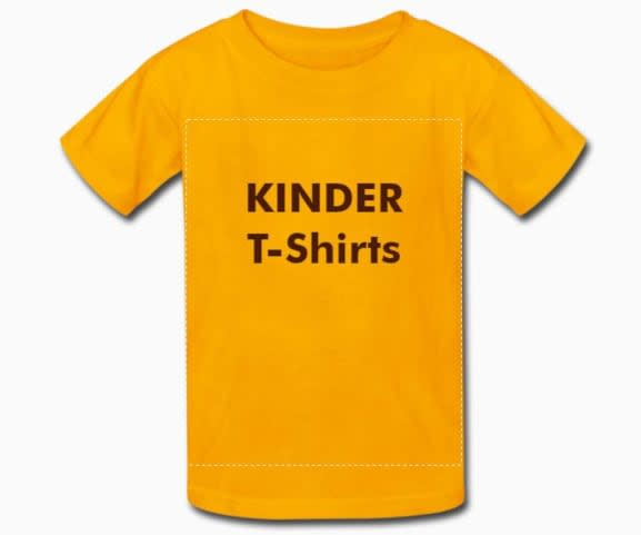 Kinder T-Shirts bedrucken