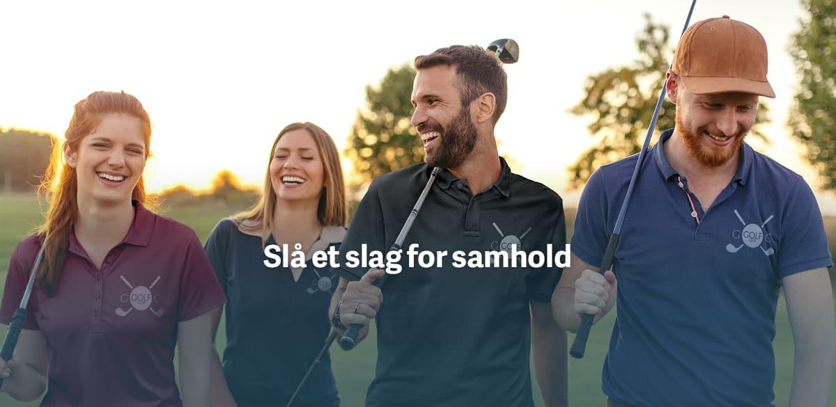 Design golfklær til golfklubben