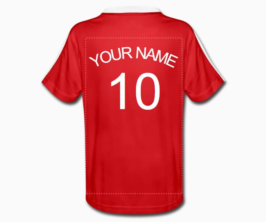 How to create personalised kids football kits