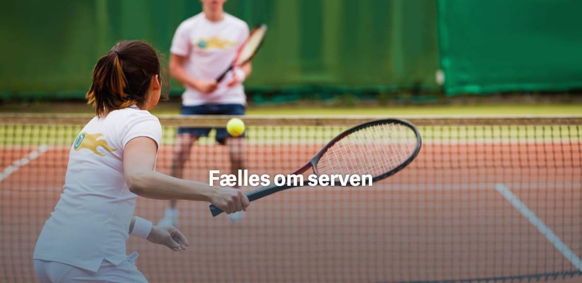 Tennistøj med navn eller logo