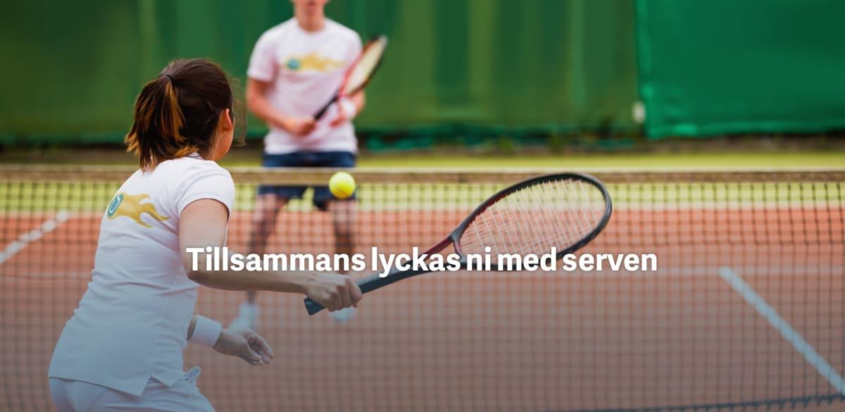 Tenniströjor med eget tryck