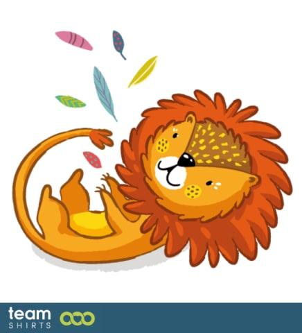 Löwe mit Federn