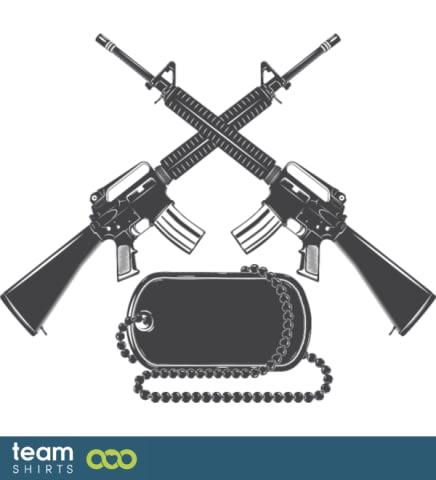 Gekreuzte Kanonen
