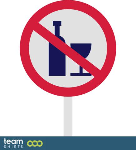 Kein alkohol zeichen