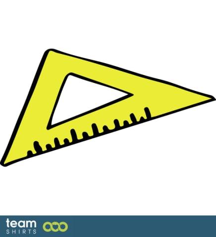 Dreieckiges Lineal