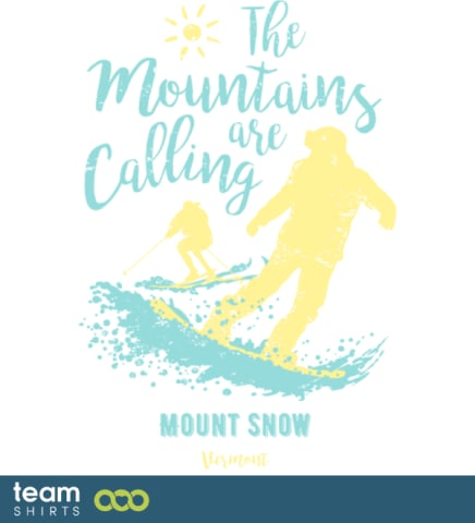 Snowboard Ski Mount Snow Vermont