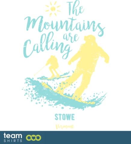 Snowboard Ski Stowe Vermont