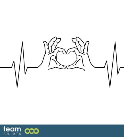 EKG heart4hands