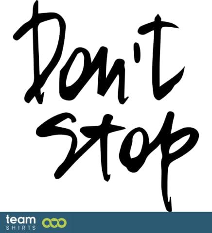 Hör nicht auf
