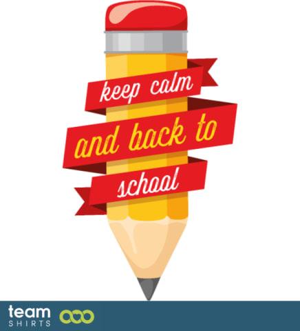 Bleib ruhig und zurück zur Schule