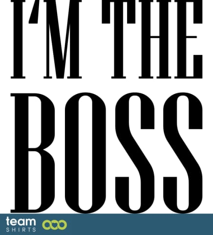 Ich bin der Chef