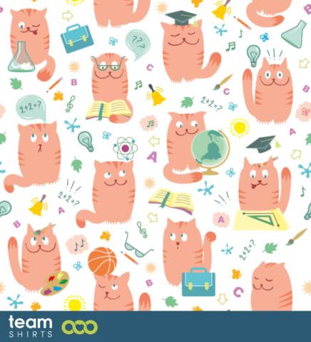 Katze-Schüler-Muster