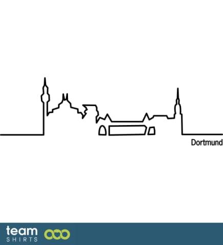 Skyline von Dortmund