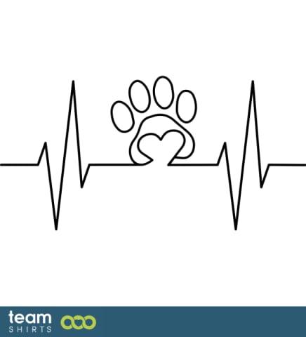 Mein Herz schlägt für meinen Hund