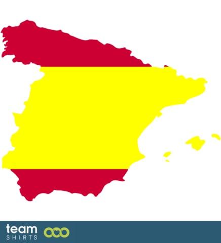 SPANIEN SILHOUETTE FARBIG
