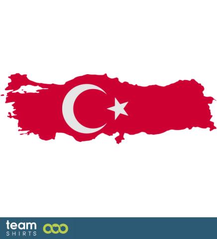 TURKEY SILHOUETTE COLOURED