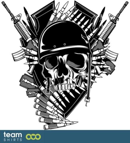 Skull Military Mix